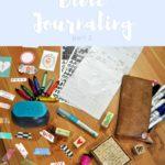 7 Bible Journaling Essentials pt. 2