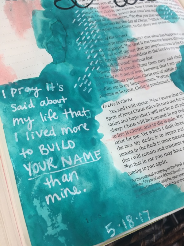 A Worship Music Playlist for Bible Journaling | Faith Heirlooms