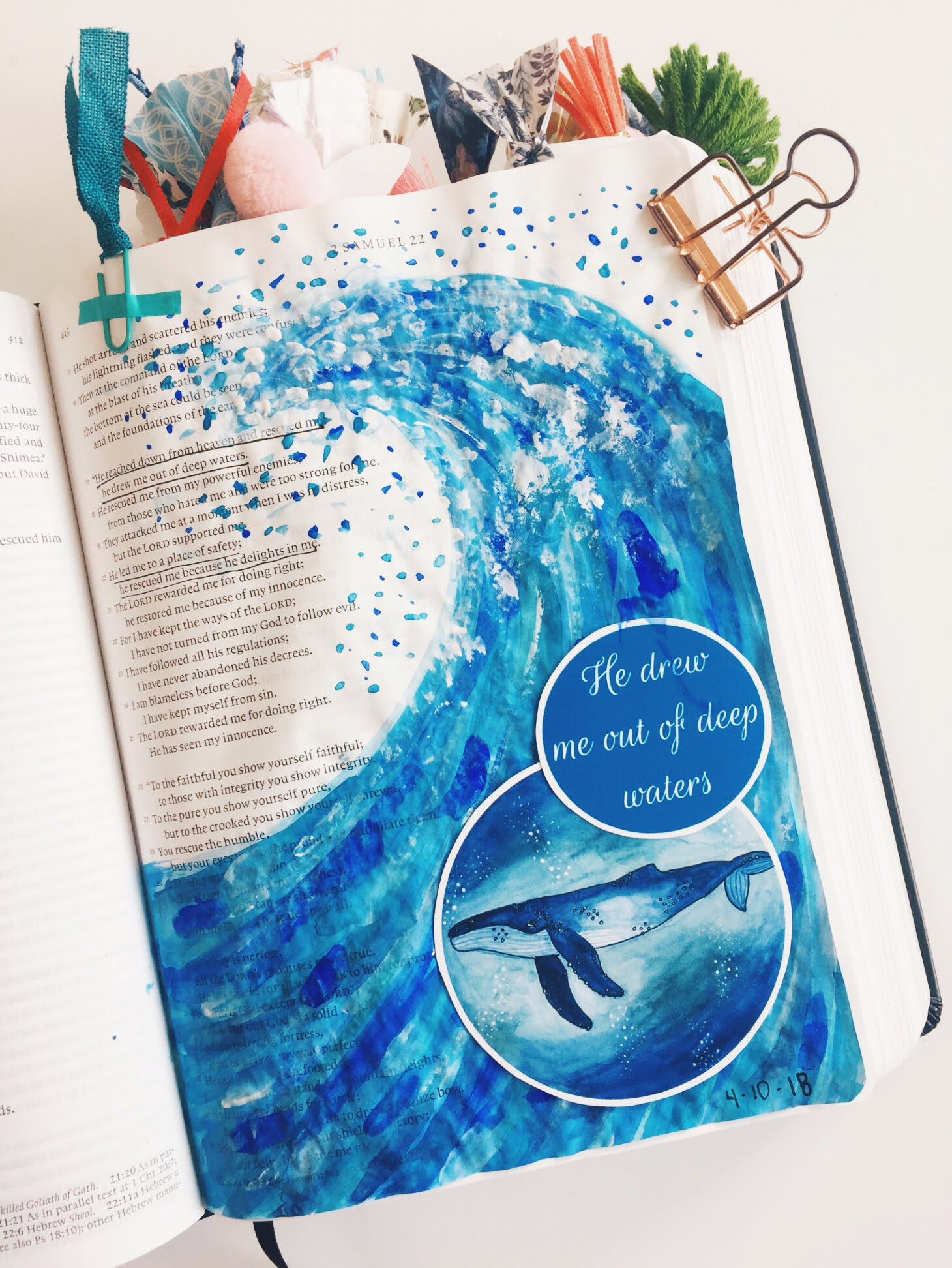 Oh My Gouache! | Bible Journaling with Gouache | Faith Heirlooms