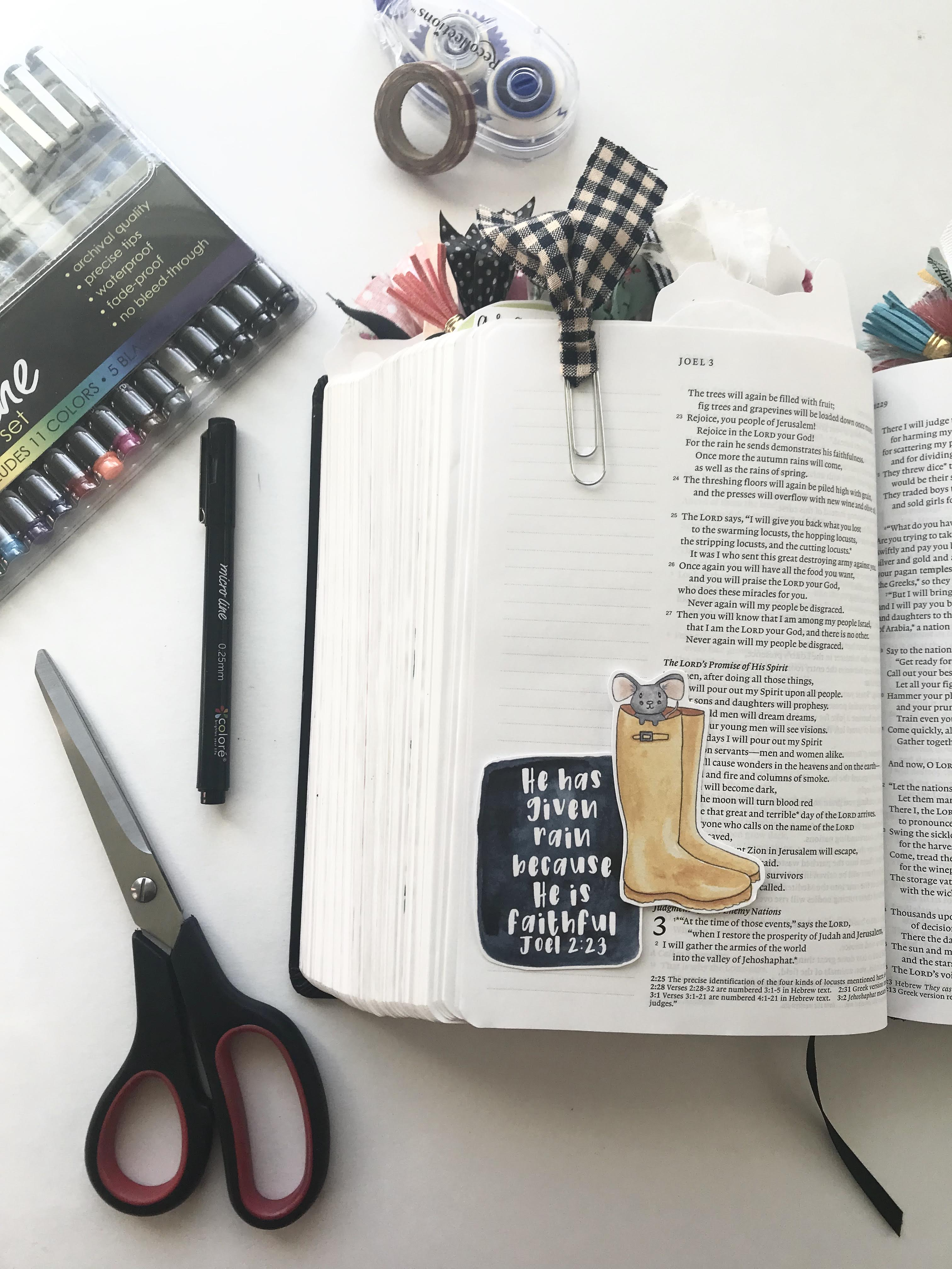 My Bible Journaling Process | How To Get Started | Faith